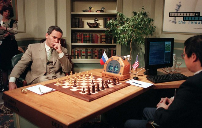 Deep Blue vs. Kasparov